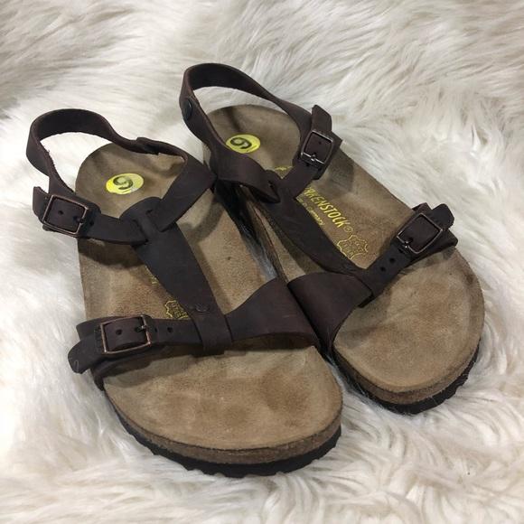 0b7297ca8eec Birkenstock Shoes - Birkenstock Larisa Sandal with Backstrap Brown